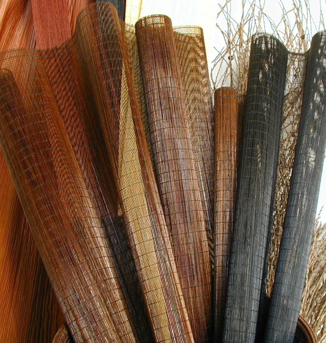 Custom micro matchstick shades