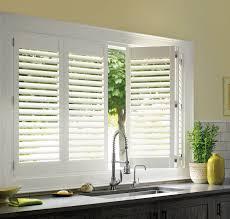 White plantation shutters