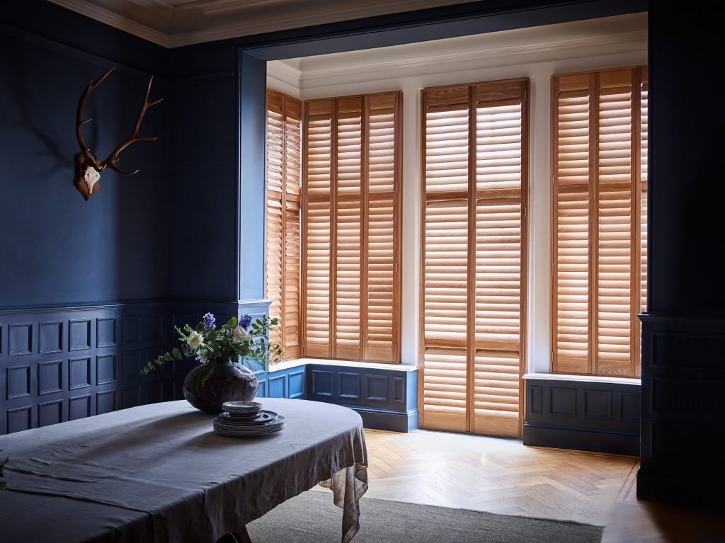 Natural interior shutters