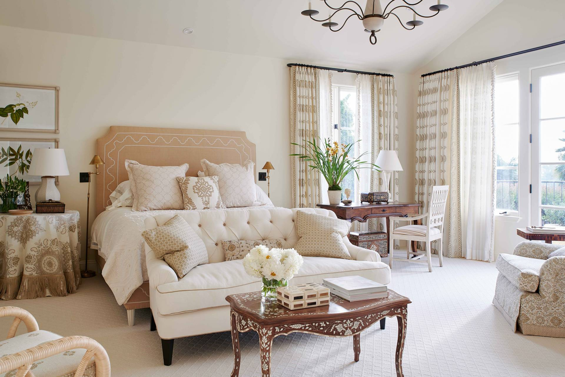 Simple Meets Elegant Master Bedroom