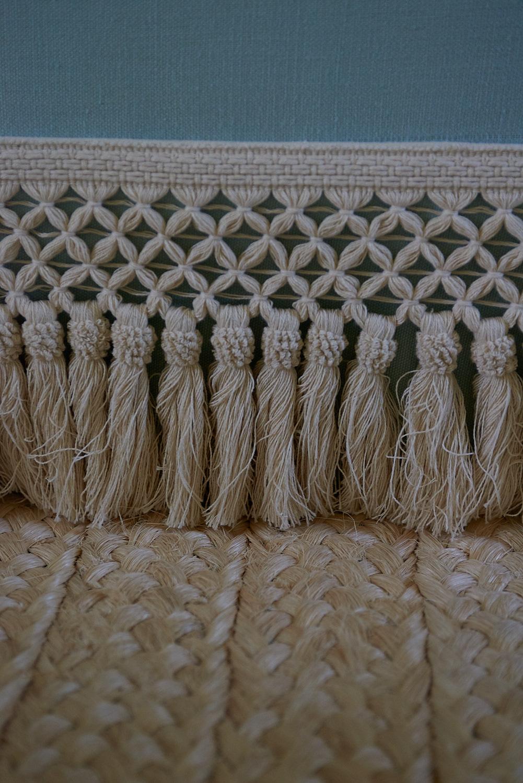 Detail of skirt tassels